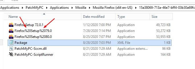 Bug with Percentage Sign in Application File Name