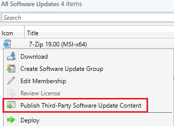 publish third-party update with full-content from metadata-only
