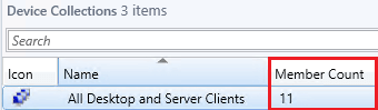 Patch My PC device count all desktop and server clients