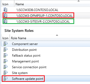 Remote WSUS connection is not HTTPS  This prevents software