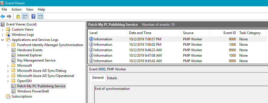 Windows-Event-Log-Publishing-Service-PatchMyPC