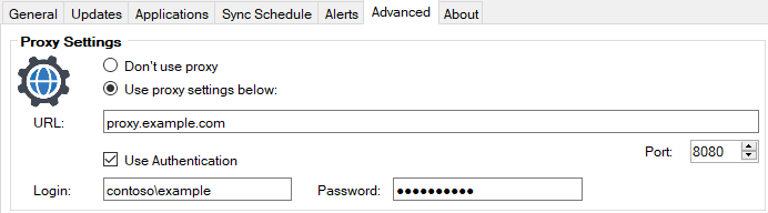 Proxy Configured PatchMyPC SCCM