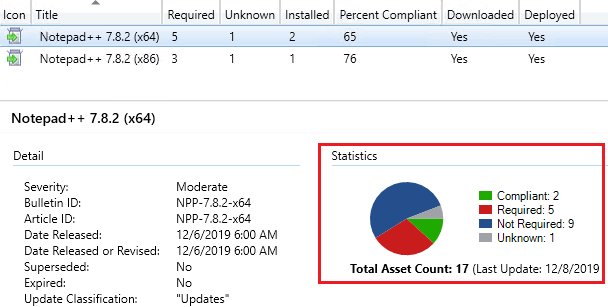 SCCM Detection State Chart for a Third-Party Software Update