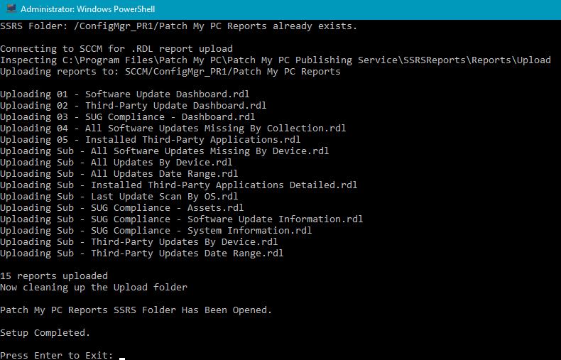 SSRS Report Upload Script