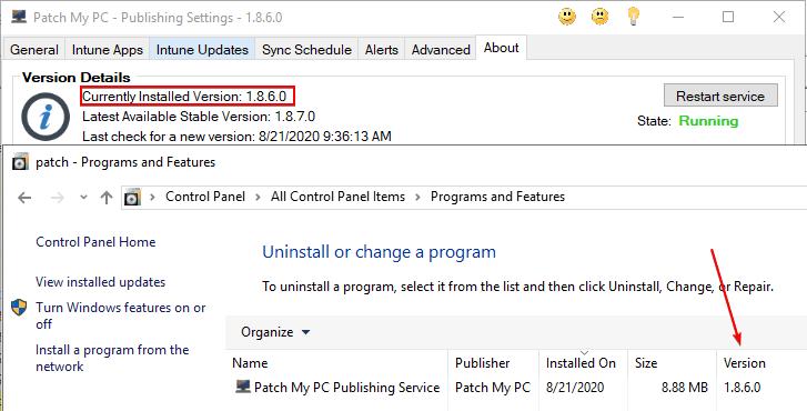 Check Build 1.8.6