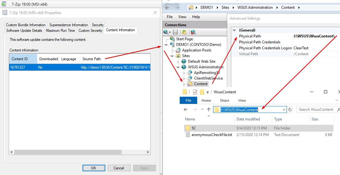 Understand WSUS Content Download Flow in SCCM