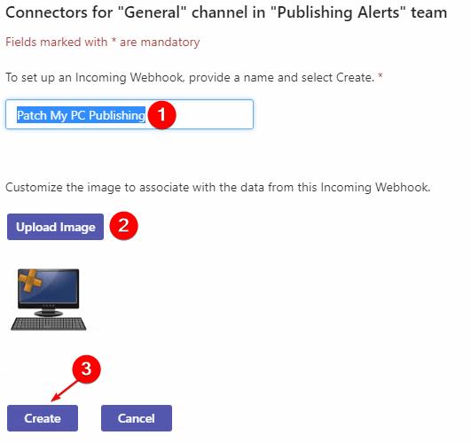 Create on Webhook Connectors