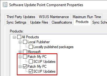 Duplicate Patch My PC Category in WSUS and SUP
