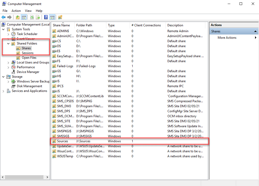 Failed to download content access denied - Shared folders